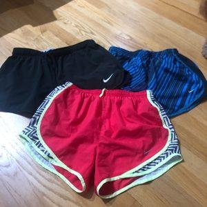 3/$35 Nike DriFit Shorts